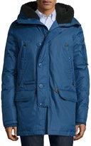 Spiewak Tech N3-B Snorkel Hooded Coat, Blue