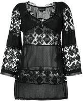 Just Cavalli lace blouse - women - Polyamide - 42