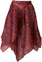 Christian Wijnants asymmetric skirt