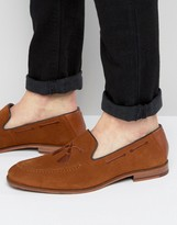 Ted Baker Cannan Suede Embroidered Loafers
