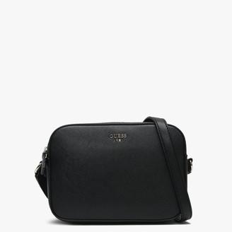 GUESS Kamryn Black Top Zip Cross-Body Bag