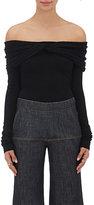Derek Lam Women's Cashmere-Silk Off-The-Shoulder Sweater