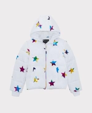 S. Rothschild Big Girls Rainbow Star Jacket