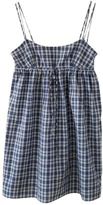 Gant Blue Cotton Dresses