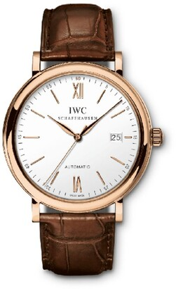 IWC SCHAFFHAUSEN Rose Gold Portofino Watch 40mm