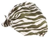 Eugenia Kim Silk Zebra Print Hat w/ Tags