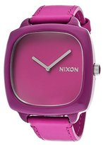 Nixon Women's Shutter A167698 Leather Quartz Watch