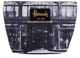 Harrods Heritage Store Front Cosmetic Bag
