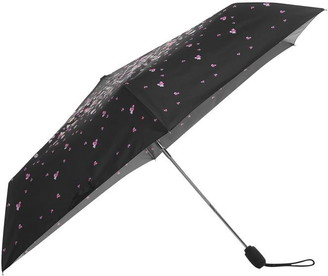 Fulton Slim Pansy Print Umbrella