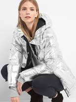 Gap ColdControl Max oversize metallic puffer jacket