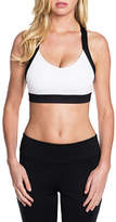 Skechers Women's Inertia Performance Bra - White Sports Bras