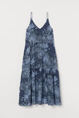 H&M Cotton-blend maxi dress