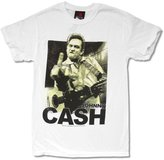 Zion Rootswear Johnny Cash Middle Finger Image Mens T Shirt (S)
