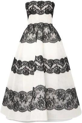 Monique Lhuillier 3/4 length dresses