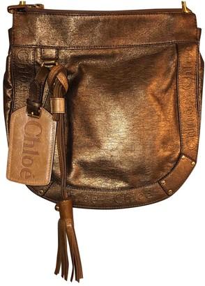 Chloé Metallic Leather Handbags