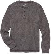 Arizona Long Sleeve Henley Shirt - Big Kid Boys