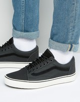 Vans Old Skool Mte Trainers In Black Va348flrc