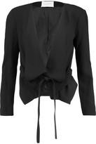 Halston Crepe Jacket