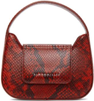 Simon Miller Red Snake Mini Retro Bag
