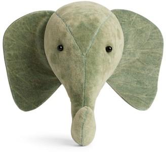 Fiona Walker Velvet Elephant Head