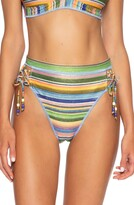 Becca East Village High Waist Bikini Bottoms