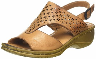 ExtraFit Women's 648 Cushioned Insole Sling Back Sandals