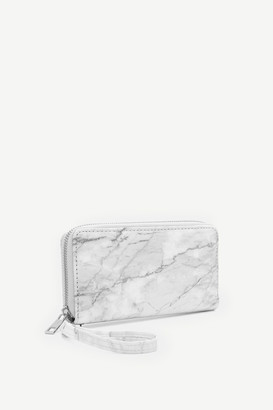 Ardene Faux Leather Accordion Wallet