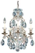 Schonbek Renaissance 5-Light Chandelier in French Gold With Clear Heritage Crystal
