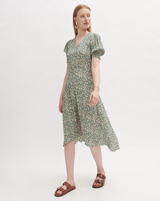 Jigsaw Viscose Primrose Tea Dress