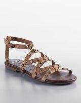 Jeffrey Campbell Athena Studded Leather Gladiator Sandals