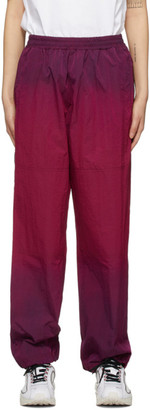 Aries Pink Ombre Dyed Windcheater Track Pants