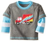 BABYBOX Baby Box Little Boys' kids long sleeve truck T-Shirts