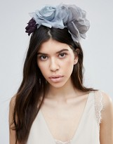 Johnny Loves Rosie Bria Gray Floral Headband