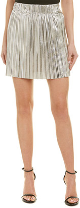 Isabel Marant Etoile Delpha High-Rise Metallic Short Skirt