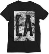 Mighty Fine Men's LA with Palms Graphic-Print T-Shirt