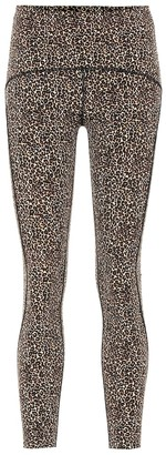 Varley Meadow leopard-print leggings