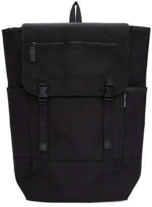 Comme des Garcons Homme Homme Black Nylon Canvas Backpack