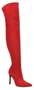GUESS Women's Bonis Over The Knee Dress Boots Women's Shoes