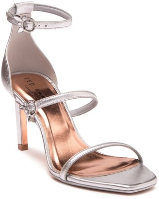 Ted Baker Lanoral Metallic Triple Strap Sandal