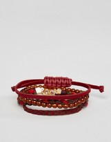 Asos Woven Bracelet Pack