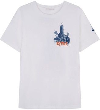 Klements Cult Printed T-Shirt White