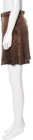 Vanessa Bruno Silk Bermuda Shorts