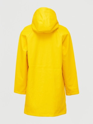 Very Rubberised Jacket with Hood - Mustard