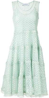 Olympiah Lamier lace flare dress