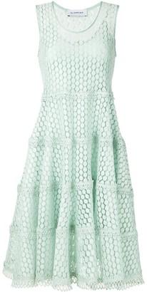 Olympiah Lamier lace flare dress