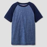 Cat & Jack Boys' Classic Baseball T-Shirt Cat & Jack - Navy XL
