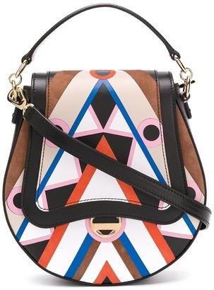 Emilio Pucci Abstract-Print Crossbody Bag