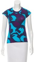 Piazza Sempione Abstract Print Short Sleeve T-Shirt