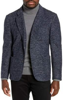 Zachary Prell Randolph Slim Fit Houndstooth Knit Sport Coat