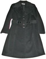 Laurèl Black Wool Coat for Women